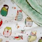 Custom Minky Baby Blanket - Spotted..